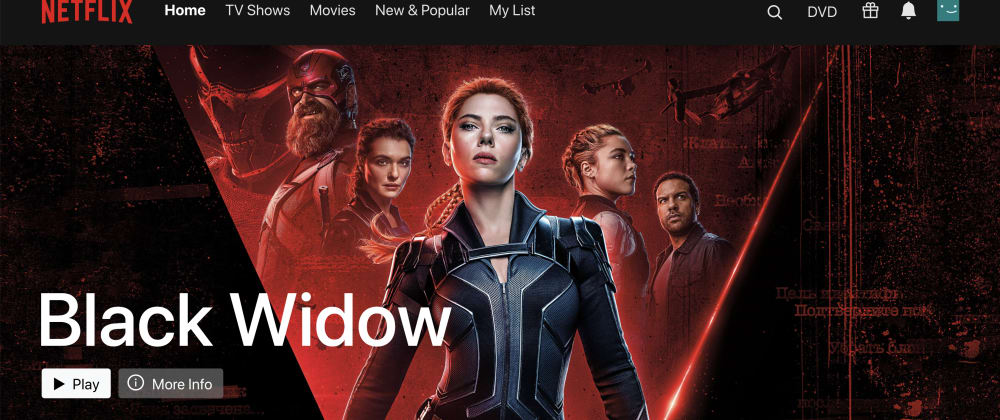 Cover image for Netflix Clone Using React and TMDb