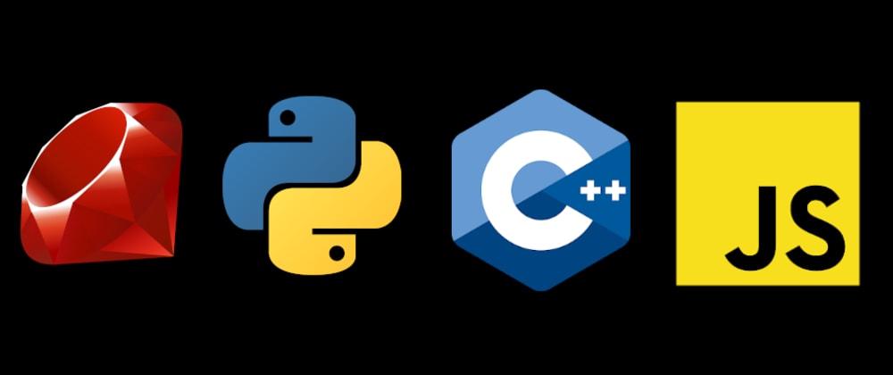 Cover image for Ruby VS Python VS C++ VS JavaScript