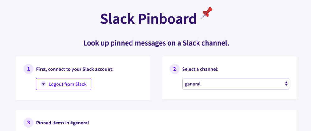 Cover image for Fun with APIs: Building a Slack pinboard app!