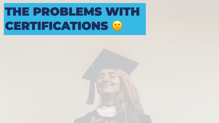 problems with certifications