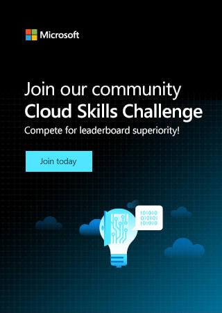 Microsoft Cloud Skills Challenge Banner