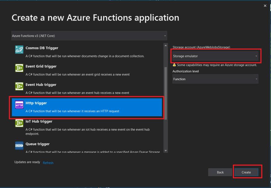 Azure Function Http Trigger