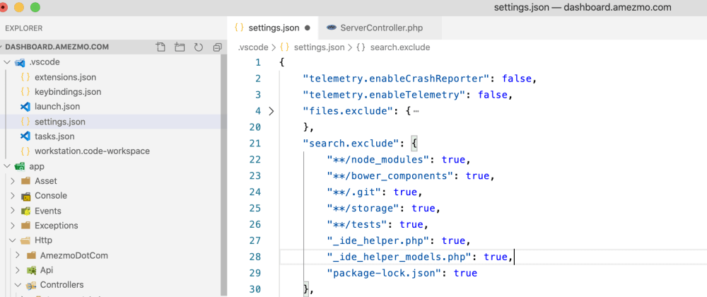 Cover image for The best setting.json for PHP development with Visual Studio Code