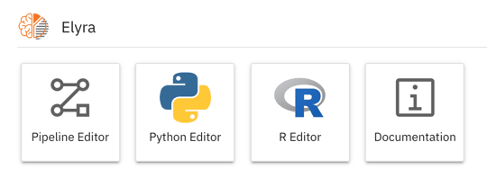 Script editors for Python and R in the Launcher