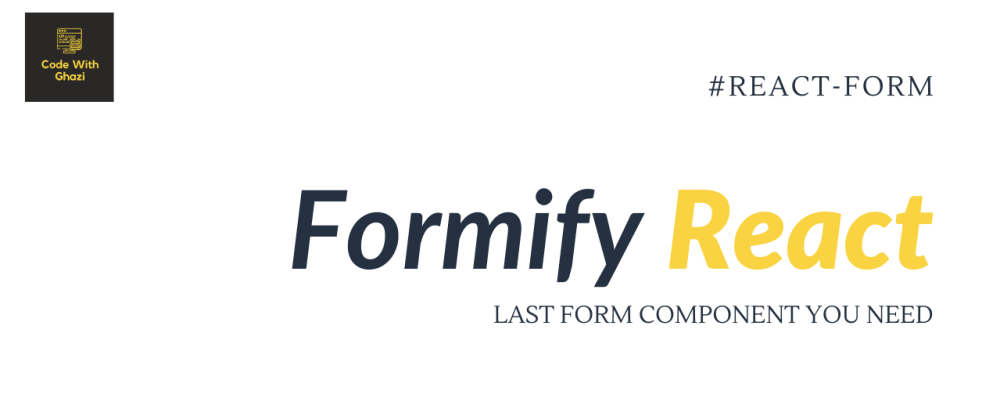 Cover image for Last Form component you need