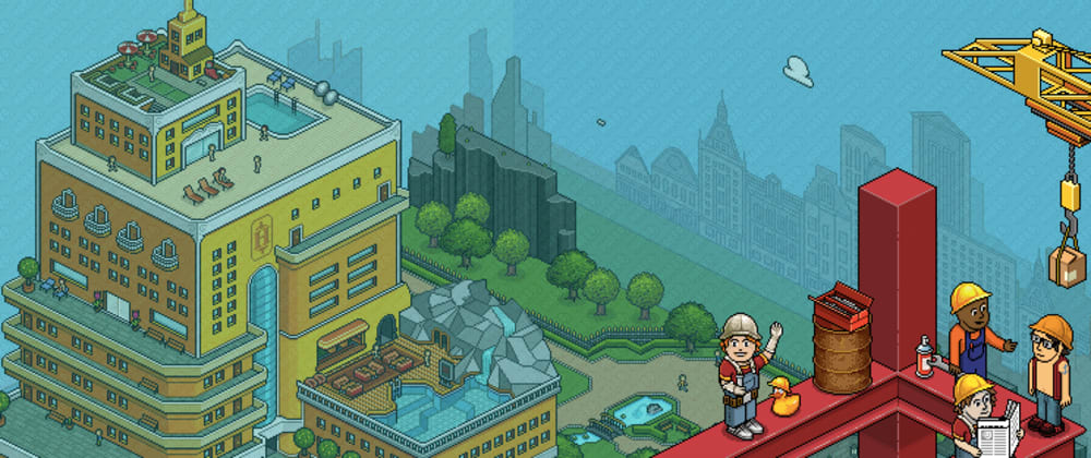 Cover image for Habbo Hotel - its rebranding into a social world-building game