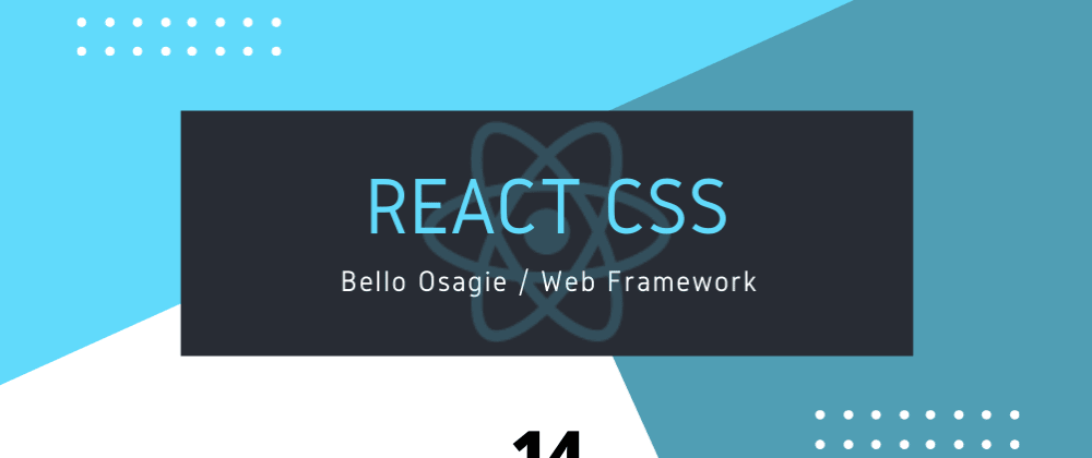 Cover image for React CSS