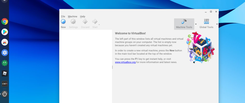 Cover image for How to install Virtual Box in ChromeOS