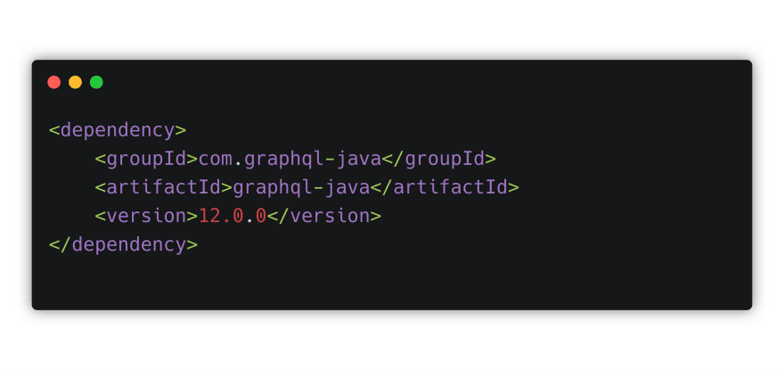 Add GraphQL Java dependency