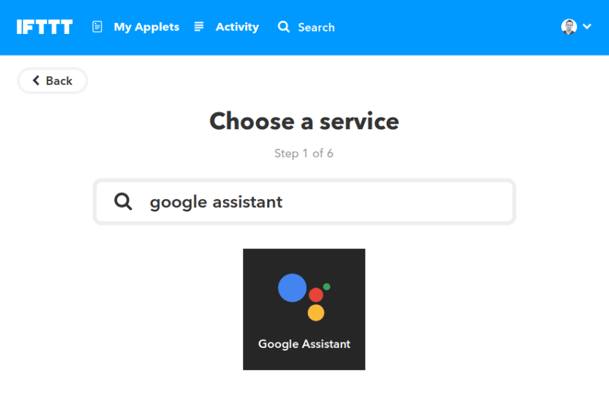 Controlling gadgets with Google Home, IFTTT and Node-RED