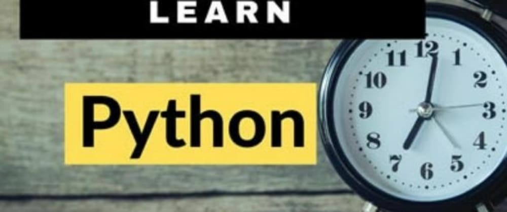 Cover image for How does it long to Learn Python