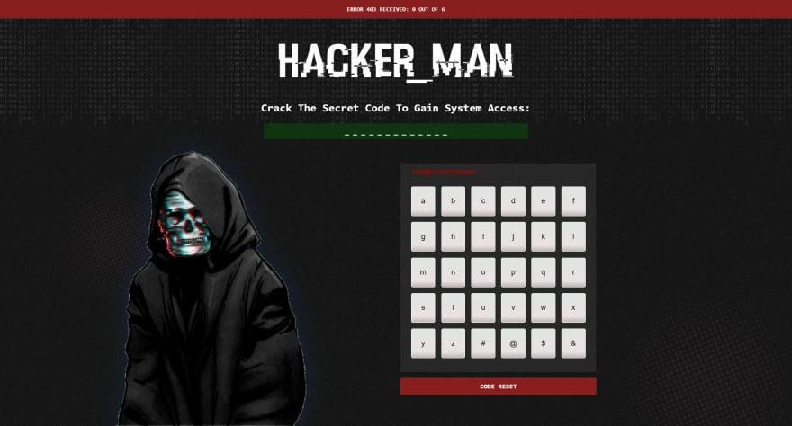 Hacker Man Preview
