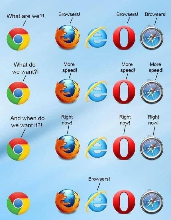 Internet Explorer meme