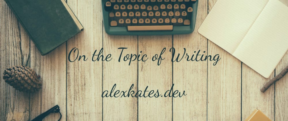 Cover image for On the Topic of Writing