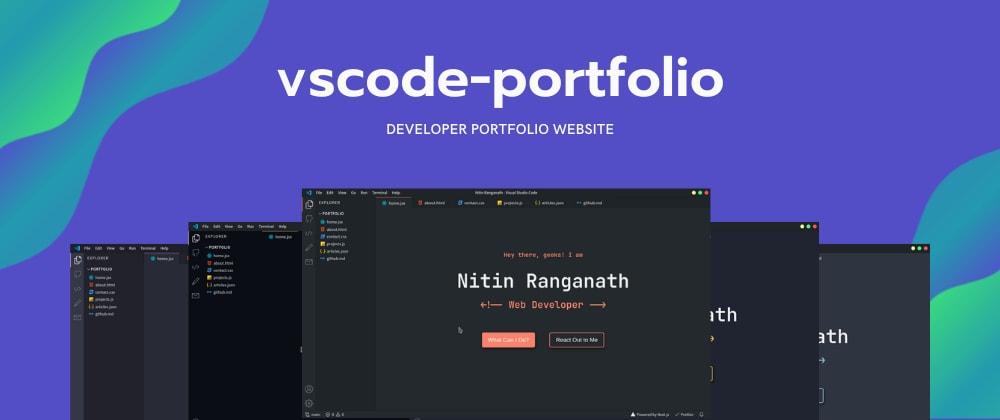 Cover Image for I Built a VSCode Inspired Developer Portfolio