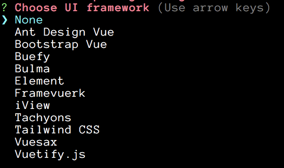 CSS Framework Choices