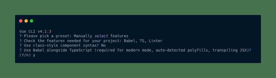 Babel alongside Typescript