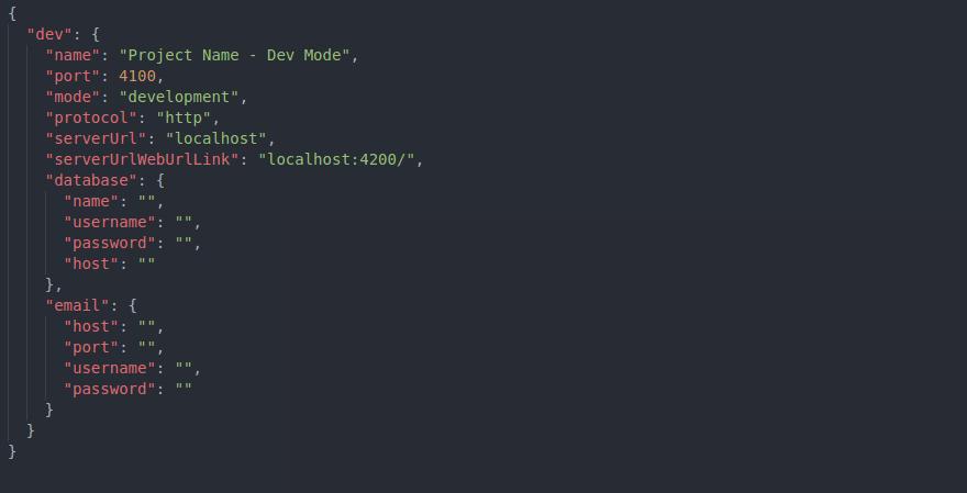 Config Folder Demo Screenshot