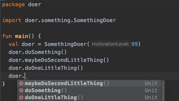 IDE Kotlin Example