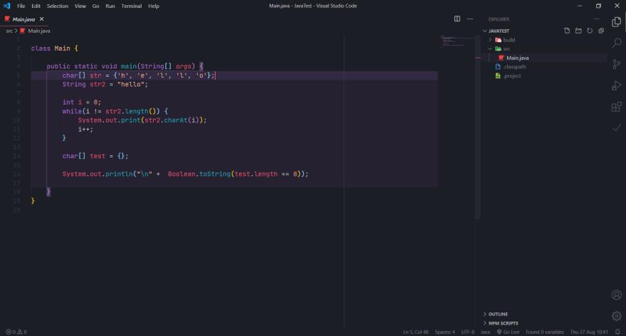 VSCode setup