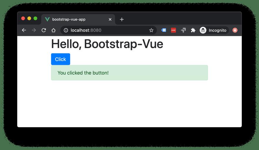 Bootstrap Vue 3