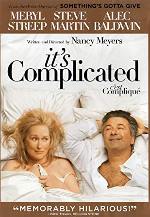"""Movie poster for the film """"It's Complicated"""""""