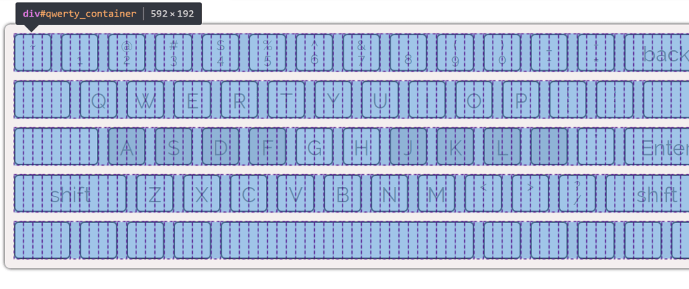 Cover image for A Keyboard Display using CSS Grid