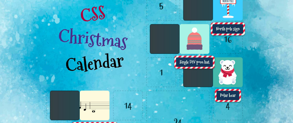 Cover image for Creating the CSS Christmas Calendar
