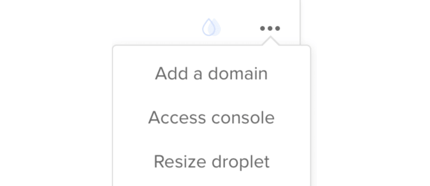 Add your domain in Digital Ocean.
