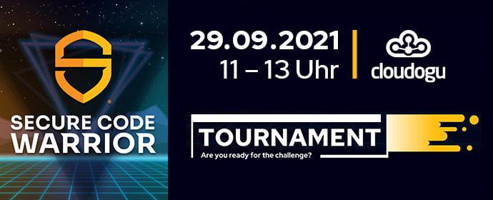 Secure Code Warrior tournament by Cloudogu