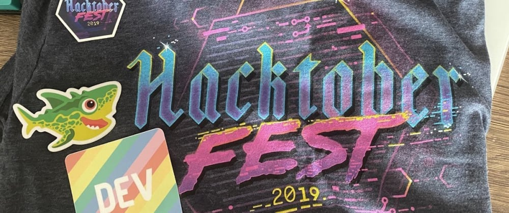 Cover image for Hacktoberfest- Free Tshirt & Cool Stickers Swag(October 2020)