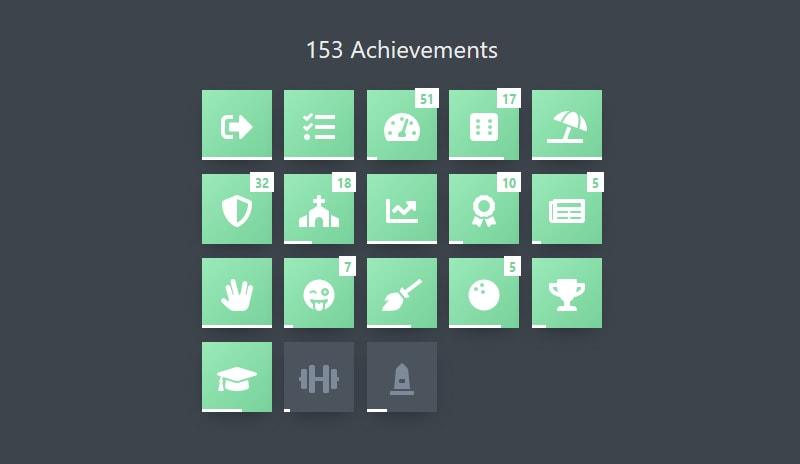 achievement section