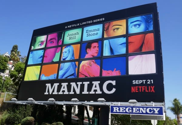 Maniac Billboard