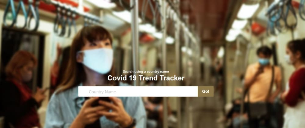 Cover image for Spring + Thymeleaf + Bulma + Charts = Awesome Covid Trend Tracker