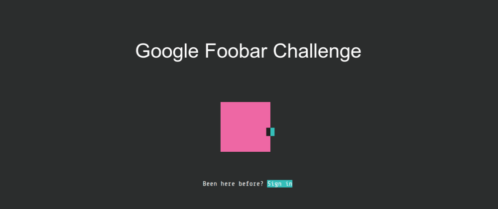 Cover image for Cracking Google's Foobar Challenge
