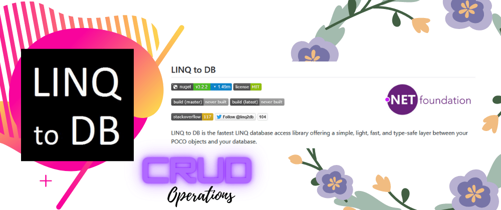 Cover image for Linq2DB CRUD Operations