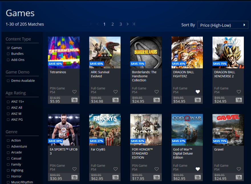 Old PS Store