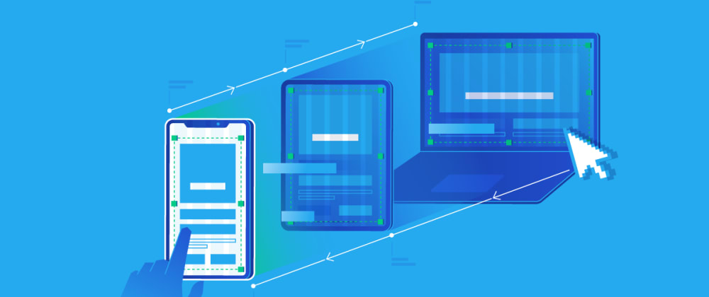 Cover image for Create a Responsive Landing Page Using HTML CSS &JS 🔥