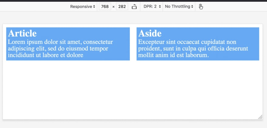Media queries in CSS