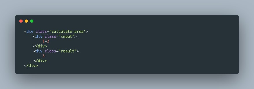 HTML Snippet
