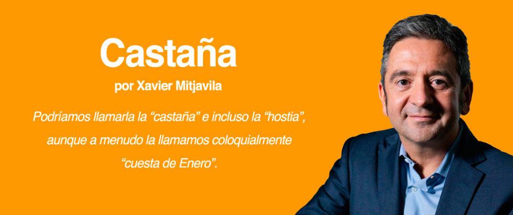 Cover image for CASTAÑA, por Xavier Mitjavila