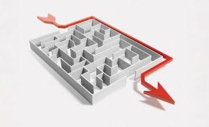 shortcut maze