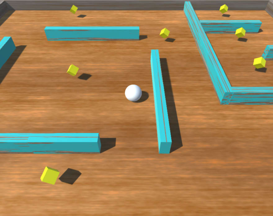 Roll-a-Ball is one of the first games you make in Intro to Game Development