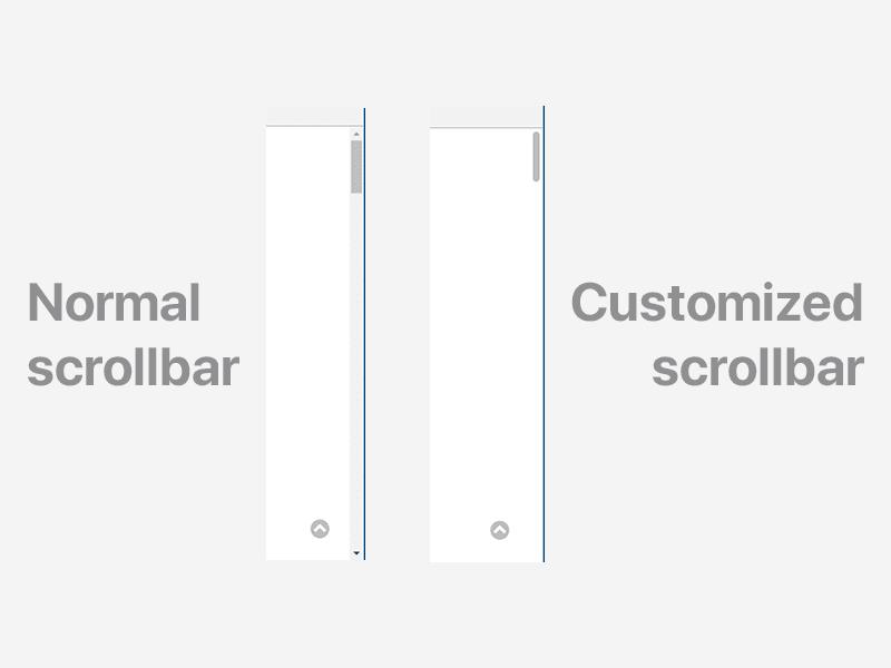 scroball sample for normal and custom scroball