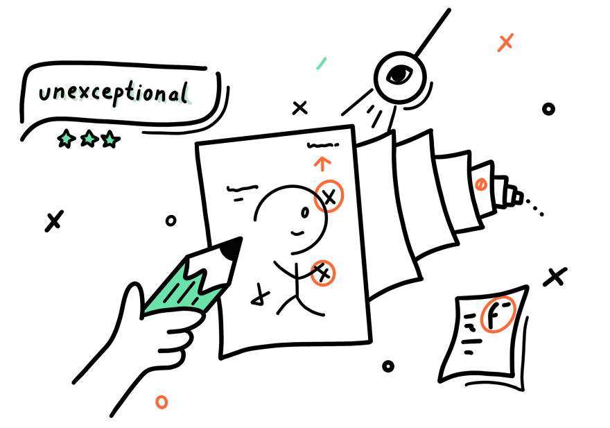 Unexceptional Illustration by me