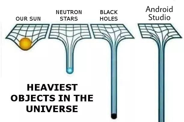 Heaviest objects in the universe