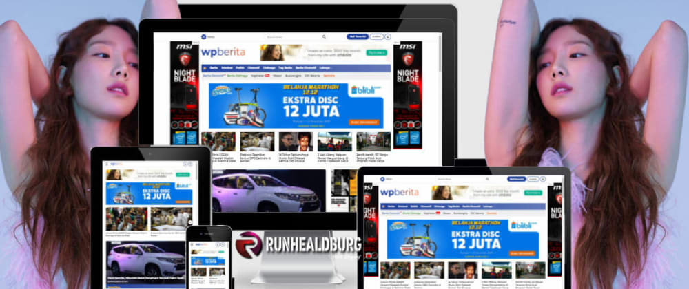 Cover image for CaraLengkap posting di theme wpberita