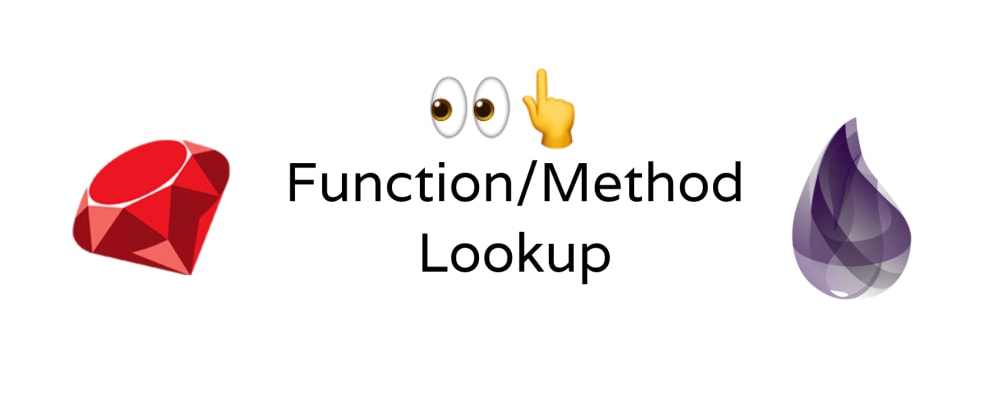 Cover image for Function/Method look up in Elixir/Ruby