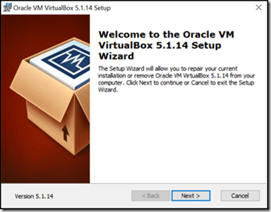 VirtualBaox Install