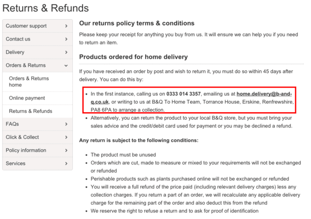 Exchange and Refund Policy